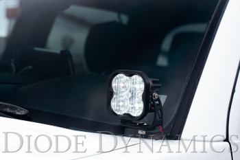 Diode Dynamics SS3 LED Ditch Light Kit for 2016-2021 Toyota Tacoma, Pro Yellow Combo