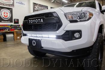 Diode Dynamics SS30 Stealth Lightbar Kit for 2016-2021 Toyota Tacoma, Amber Flood