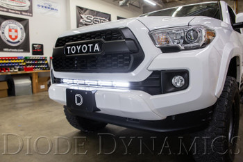 Diode Dynamics SS30 Stealth Lightbar Kit for 2016-2021 Toyota Tacoma, White Combo