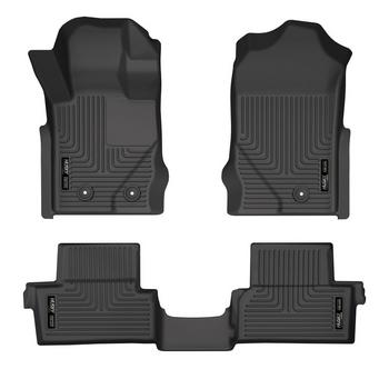 Husky Weatherbeater Front & 2nd Seat (2 Door) Floor Liner for 2021+ Ford Bronco