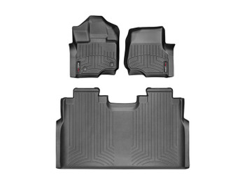 WeatherTech 44697-1-2 FloorLiner (1st and 2nd Row) for 2015-2016 Ford F-150 - SuperCrew