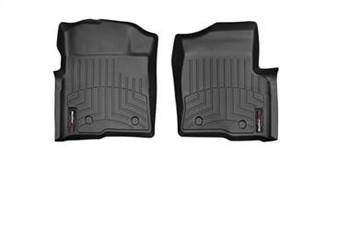 WeatherTech FloorLiners Front Rear Set Black 09-13 Ford F-150