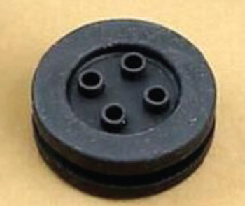 4 Position Wiring Seal/Grommet, Flat (Pair)
