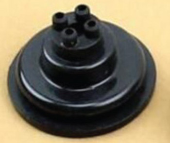 4 Position Wiring Seal/Grommet, Raised (Pair)