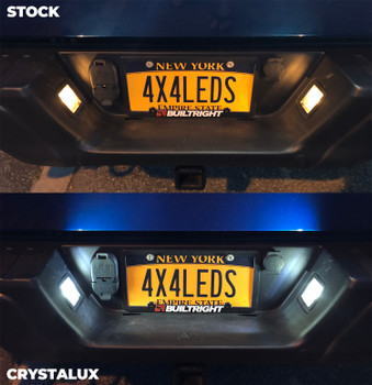 CrystaLux License Plate LED Lights for Ford F-150 (1997+)