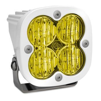 Baja Designs Squadron Pro, White, LED Wide Cornering, Amber