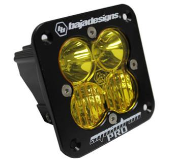 Baja Designs Squadron Pro, Flush Mount, LED Driving/Combo, Amber