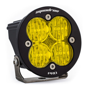 Baja Designs Squadron-R Pro, LED Wide Cornering, Amber