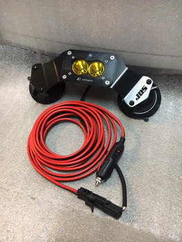 JDS Customs Suction Mounted Off-Road Follow Light
