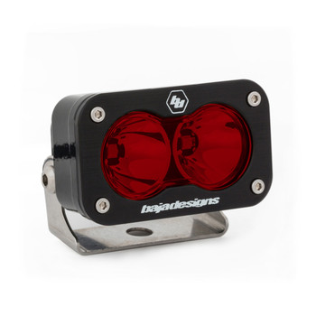 Baja Designs S2 Pro, LED Spot, Red