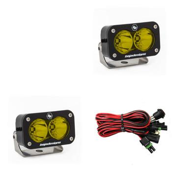 Baja Designs S2 Pro, Pair LED Spot, Amber