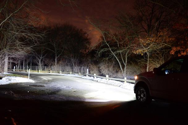 CrystaLux LED Headlight Bulbs (H13) for Jeep Wrangler (2007+)