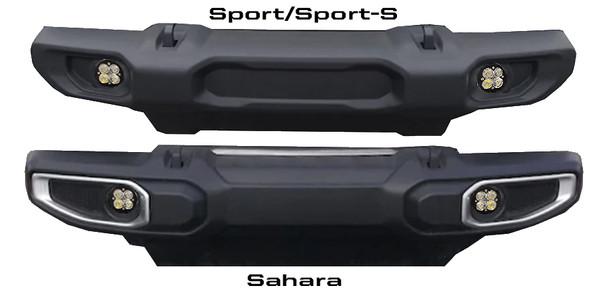 Baja Designs Jeep JL (Sport/Sport-S), Squadron-R Pro, Fog Pocket Kit