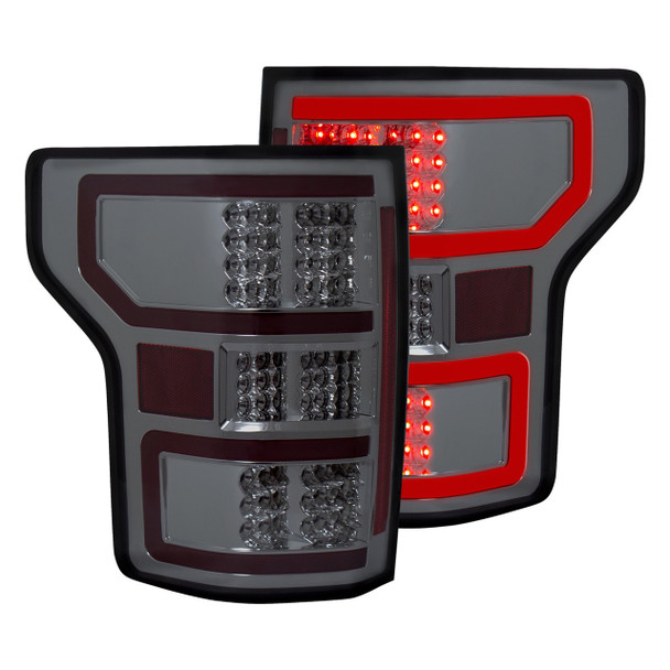 Anzo LED Tail Lights for 2018 Ford F-150 (Smoked)