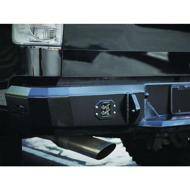 Rigid Industries Midnight Edition D-Series Pro, Spot (Flush Mount) Pair