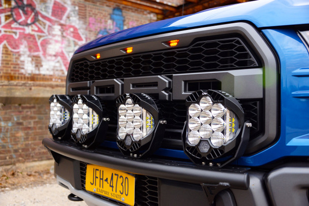 N-FAB 2015-2017 Ford F150 Radius Light Bar w/ Multi Mount