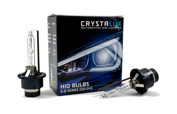 CrystaLux 5.0 Series HID Bulbs, D2/D4 (Pair)