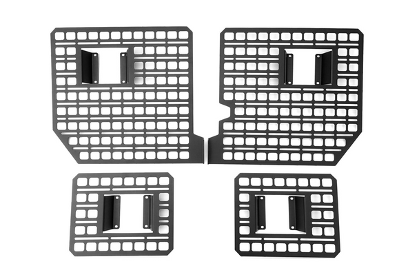 BuiltRight Industries Bedside Rack System 4pc Kit - 2017-2021 Ford F-250, F-350