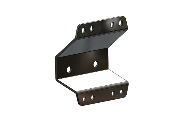 BuiltRight Industries Bedside Rack System 4 Panel Kit - 2009 - 2014 Ford F-150