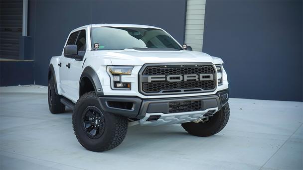 Baja Designs 2015-2020 Ford F150 Raptor A-Pillar Squadron Kit (Pro)