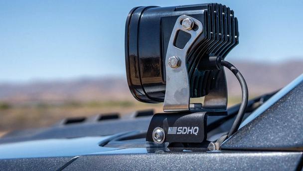 SDHQ A-Pillar Light Mounts for 2015-2020 F150 & 2017-2020 F150 Raptor