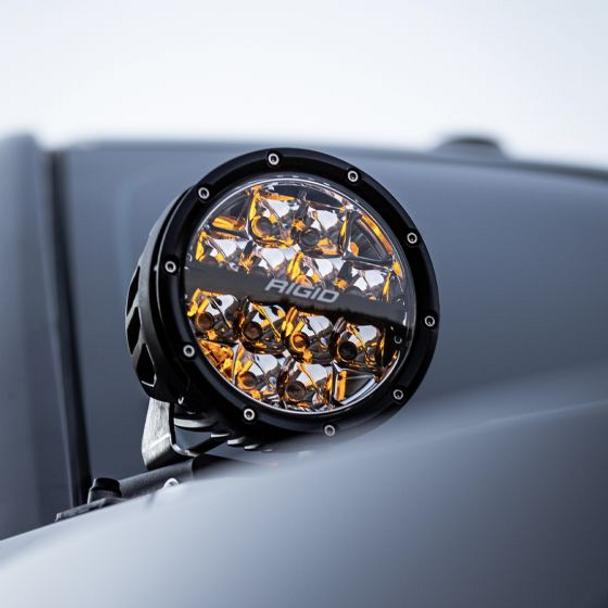 "Rigid Industries 360-Series, 4"" Pair, Drive (White Backlight)"
