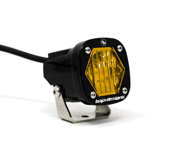 Baja Designs S1 LED, Wide Cornering, Amber