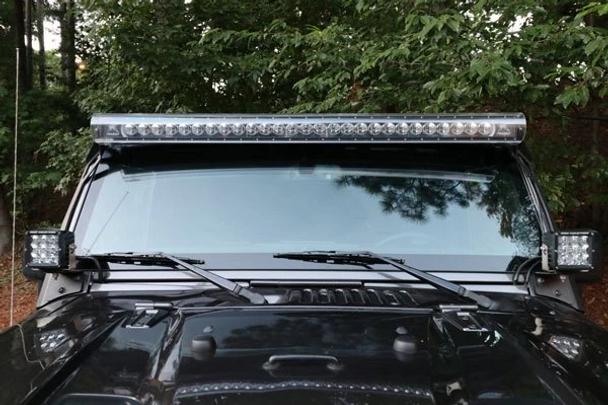"Aerolidz Light Bar Cover - 20"" / 22"" - Clear - Dual Row"