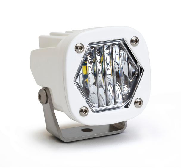 Baja Designs S1 LED, White, Wide Cornering