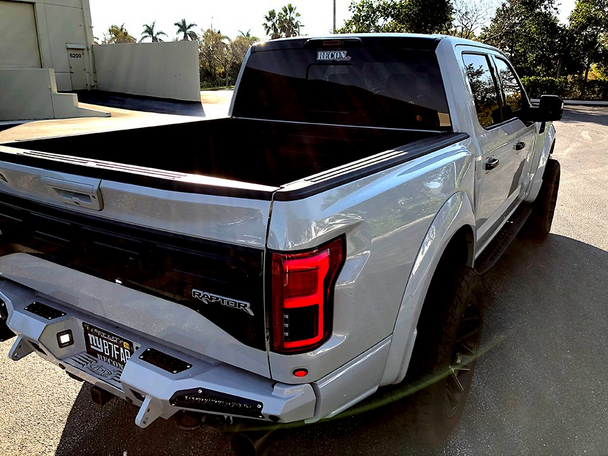 Recon Ford F150 15-17 & Raptor 17-20 Tail Lights OLED in Red