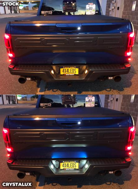 CrystaLux LED License Plate Lights