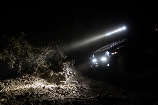 Baja Designs Jeep JL/JT Rubicon Steel Bumper XL Sport Light Kit (Upfitter)