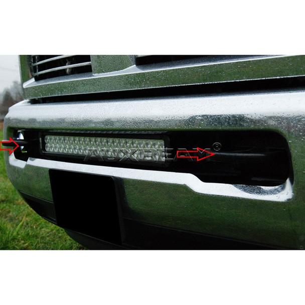 """20"""" Straight Light Bar Mount for 2003-2014 Dodge Ram 2500/3500"""