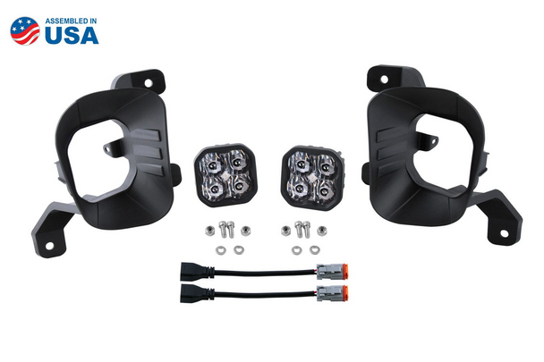 """Diode Dynamics Stage Series 3"""" Fog Light Kit for 2019-2021 RAM 1500 Classic"""