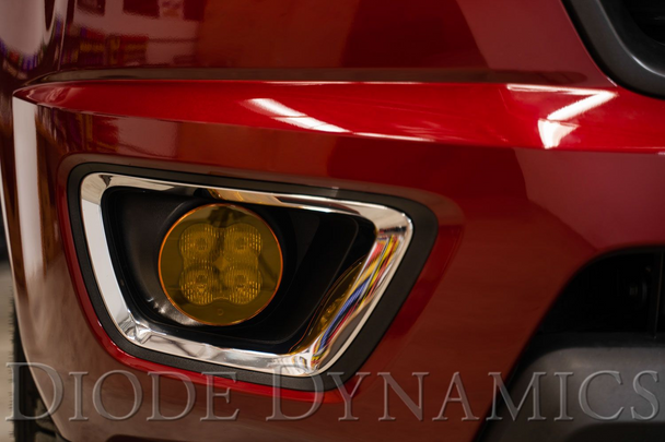 """Diode Dynamics Stage Series 3"""" Standard LED Pod Cover (Yellow)"""
