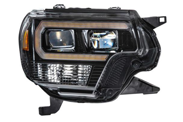 Morimoto XB Hybrid LED Headlights for 2012-2015 Toyota Tacoma (Amber DRL)