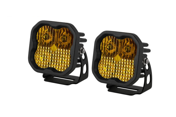 """Diode Dynamics Stage Series 3"""" Sport Yellow Combo Standard (Pair)"""