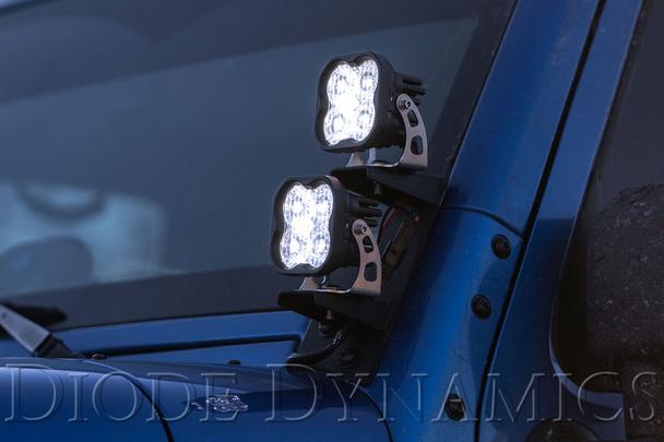 "Diode Dynamics Stage Series 3"" Sport White Flood Round (Single)"