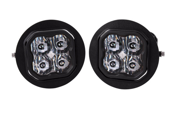 """Diode Dynamics Stage Series 3"""" Pro White SAE Driving Type FT Fog Kit (2006-2014 Ford F-150, 2005-2011 Toyota Tacoma, 2007-2013 Toyota Tundra)"""