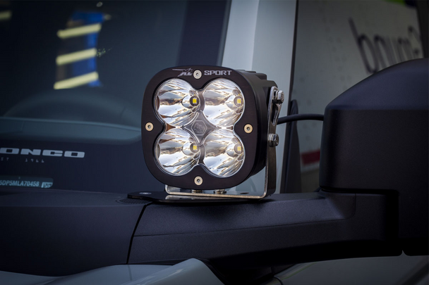 Baja Designs A-Pillar Kit for 2021+ Ford Bronco (XL Pro/Toggle Switch)