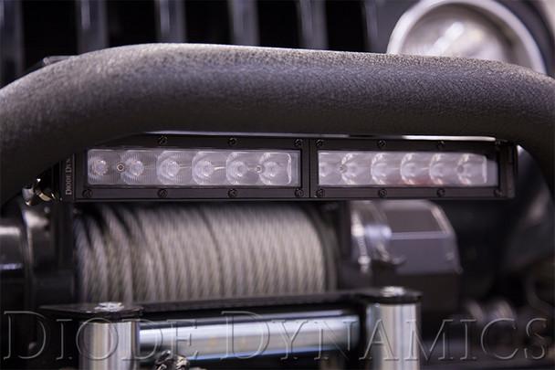 """Diode Dynamics 12"""" LED Light Bar White SAE Fog/Wide"""