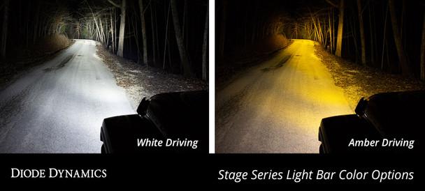 "Diode Dynamics 30"" LED Light Bar Amber Driving"