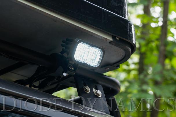 "Diode Dynamics Stage Series 2"" LED Pod Sport White Spot Standard Amber Backlight"