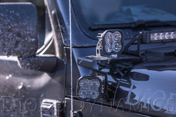 "Diode Dynamics Stage Series 3"" Max White SAE Fog Round (Pair)"