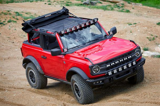 Baja Designs Roof Light Bar Kit for 2021+ Ford Bronco (8x XL Linkable w/Upfitter)