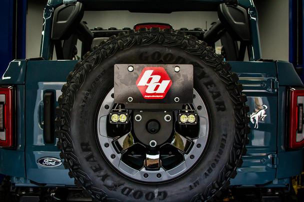 Baja Designs Reverse Kit for 2021+ Ford Bronco (Dual S2 Sport w/Upfitter & License Plate Mount)