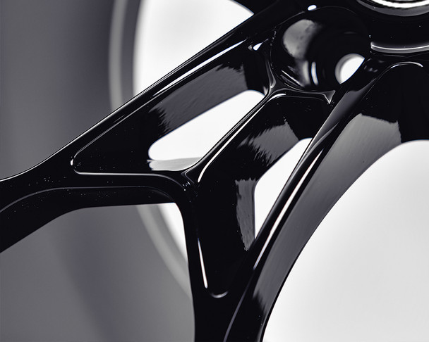 VR Forged D01 Wheel Gloss Black 20x9.5 +38mm 5x120