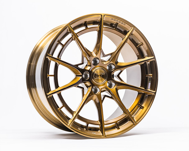 VR Forged D03-R Wheel Brushed Gold 18x9.5 +45mm 5x120