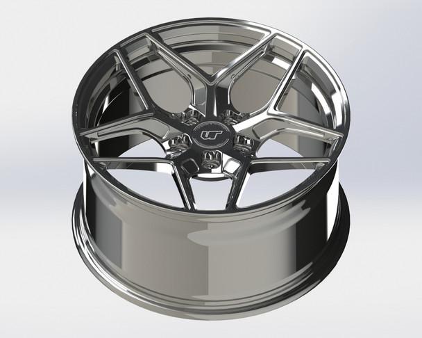 VR Forged D04 Wheel Hyper Black 19x10.5 +44mm 5x120