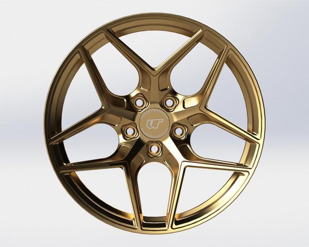 VR Forged D04 Wheel Satin Bronze 20x12 +45mm Centerlock